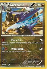 POKEMON BLACK AND WHITE DRAGONS EXALTED - GARCHOMP 90/124 REV HOLO