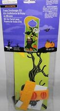Halloween Foam Doorhanger Kit  19 pcs  BOO  Scary Tree with Ghost,Bat and Owl
