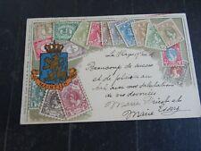 Nederland ansichtkaart Ottmar Zieher verzonden Den haag - Maastricht 1906