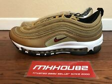 New Nike Air Max 97 Gold Medal Olympic Metallic 1997 1 90 Running Shoes Size 8