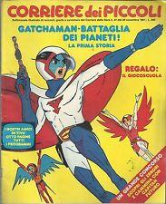 CORRIERE DEI PICCOLI n° 47 del 1981 (La Stefi-DALTANIUS,GATCHAMAN)