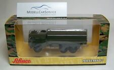 "Schuco (H0): 26260 Man 7T GL Truck "" German Military "", Olive Green"