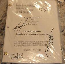 Desperate Housewives TV Script Cast Autograph Hatcher Longoria Cross Huffman
