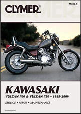 1985-2006 Kawasaki Vulcan VN 700 750 CLYMER REPAIR MANUAL M356