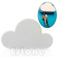 Fashion White Creative Novelty Cloud-shaped Magnetic Magnets Key Holder Home New