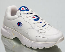 Champion CWA-1 Leather Women's Low White Casual Chunky Lifestyle Sneakers Shoes