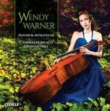 Haydn/ Myslivecek Cello Concertos [Wendy Warner, Drostan Hall] [Cedille: CDR 900