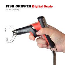Fish Gripper Fishing Pliers【LED 55lb/25kg Digital Scale】Fish Grabber Lip Grip