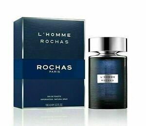 ROCHAS L'HOMME 3.3 MEN'S COLOGNE 3.4 OZ EDT