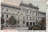 Leipzig, Konservatorium, gelaufen 1905,  gut erhalten,  siehe Scan