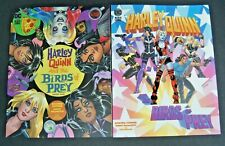 DC BLACK LABEL HARLEY QUINN AND THE BIRDS OF PREY # 2 AND # 3 TWO BOOK LOT