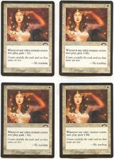 SOUL WARDEN X4  MAGIC Mtg - EXODUS - NEAR MINT (NM)