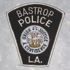 "Bastrop Police Patch - Louisiana - 3 7/8"" x 4 1/4"""