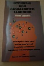 Hypnosis and Accelerated Learning, Very Good Condition Book, Pierre Clement,