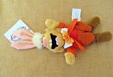 Disney*Mini Bean Bag Plush beanie*Mach Hare Alice In Wonderland rabbit bunny