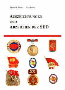 Auszeichnungen und Abzeichen der SED (Feder)