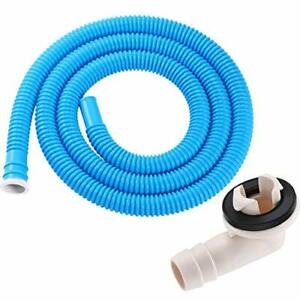 BBTO 3/5 Inch AC Drain Hose Connector Elbow Fitting with Rubber Ring for Mini...