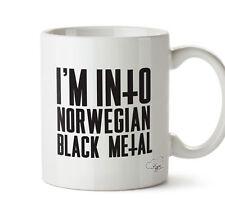 Sono in Norvegese Black Metal TAZZA 10 OZ (ca. 283.49 g) Regalo Tazza per la casa