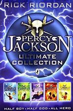 Percy Jackson Collection, - The Lightning Thief, the Last Olympian, Titans Curse