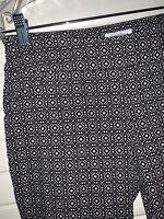 Charter Club Sz 10P Petites Cambridge Slim Pants Ponte Knit Stretch Black Khaki