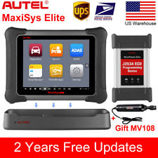 Autel Maxisys Elite OBD2 Auto Code Readers Scanners Tool J2534 ECU Programming
