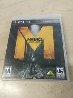 Metro Last Night PlayStation 3 PS3