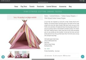 Pacific Play Tent - Large Multicolor Teepee