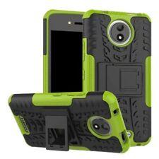 Etui Hybride 2 Pièces Extérieur Vert housse étui pour Motorola Moto C Plus