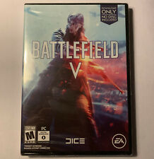Battlefield V PC Key Download Only Physical Case Brand New Sealed