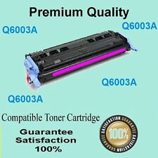 1x Q6000A Q6001A Q6002A Q6003A Toner Cartridge for HP Laserjet 1600 2600 Magenta