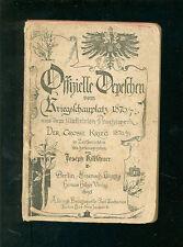 Officielle dépêches du théâtre 1870/71