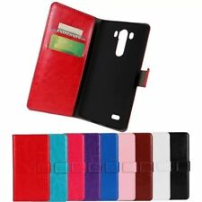 Flip Leather Stand Wallet Case Cover Card Holder For LG Optimus G3 D855 D850