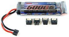 Venom 7 Cell 8.4V 5000mAh NiMH Flat Battery Traxxas Deans EC3 Tamiya  VEN1527-7