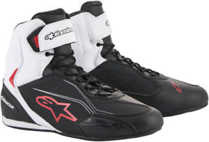 Alpinestars Faster 3 Riding Shoes 11 Black Red White 2510219123-11
