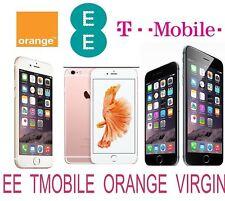 UNLOCK CODE SERVICE FOR IPHONE 6S 6S PLUS 6 PLUS 6 5S 5C 5 UK EE ORANGE T-MOBILE