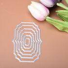 6pcs/set Rectangle Metal Cutting Dies Stencil Scrapbook Paper Card Embossing DIY