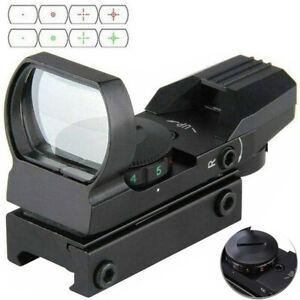 Taktische Holographische Roter Grüner Punkt 4 Absehen Reflexvisier 11mm Schiene