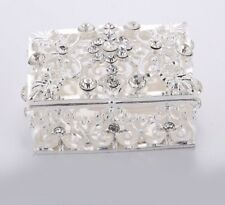 Fashionable Crystal Jewelry Box For Gifts Souvenirs And Lovely House Decorations