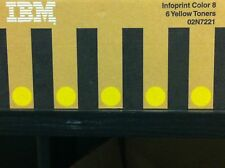 ORIGINALE IBM 02n7221 INFOPRINT colore 8 GIALLO 6 Toner a-Ware