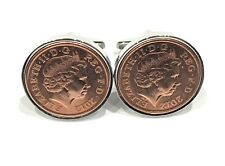 More details for 2012 gift idea 9th pottery wedding anniversary cufflinks