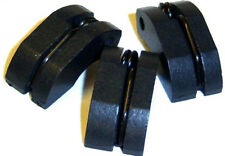 81024 RC 3 Zapatos Clutch + Primavera 1/8 HSP Tornado Nylon Negro Plástico