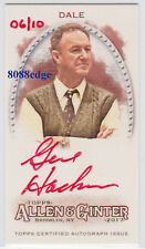 "2017 ALLEN & GINTER RED AUTO: GENE HACKMAN #6/10 AUTOGRAPH ""UNFORGIVEN/SUPERMAN"""