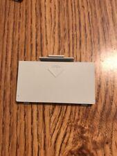 Sega Saturn Battery Port Cover (White) - Genuine Part  Some Fade USA SELLER