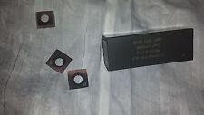 Byrd Shelix Cutterhead 4 sided Carbide Insert Cutters - Lot of 50 - USA