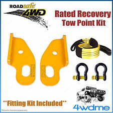 Toyota Landcruiser 80 100 105 Roadsafe Rated Recovery Heavy Tow Points FULL Kit