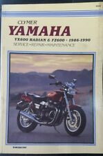 M388 YAMAHA YX600 RADIAN FZ600 1986-1990 CLYMER MOTORCYCLE WORKSHOP MANUAL