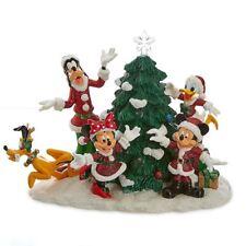 Disney Santa Mickey Mouse and Friends Light-Up Tree Figure