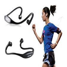 Black Stereo Wireless Bluetooth Headset Headphones Sport for iPhone iPad Samsung