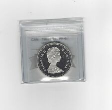 **1982**, Coin Mart Graded Canadian Silver Dollar **PF-67 UHC**