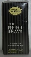 The Art of Shaving Perfect Shave Sample Kit (3pcs) Unscented E5034
